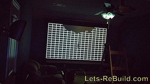 Build A Projector Screen Yourself » That'S The Way It Works