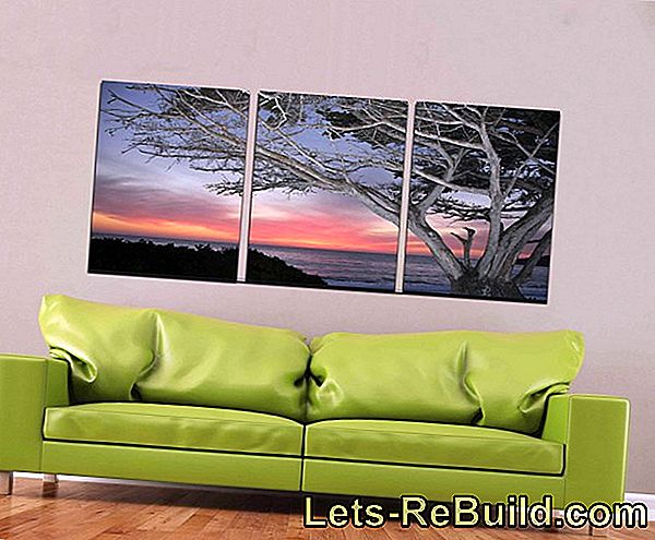 Hang Canvas Without Stretcher » These Are The Possibilities