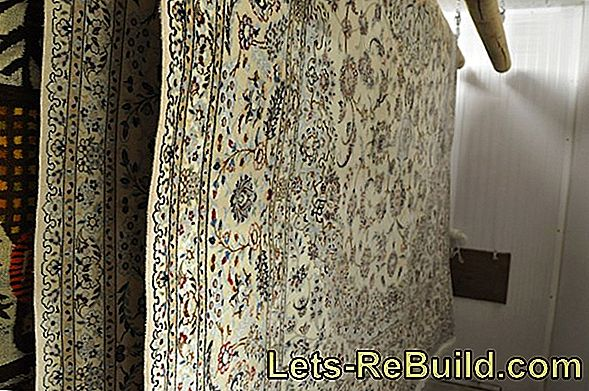 Clean Persian Carpet » How To Remove Stains
