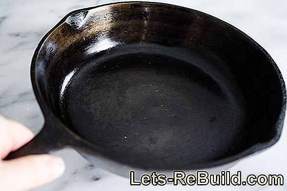 Restore cast iron in 3 steps