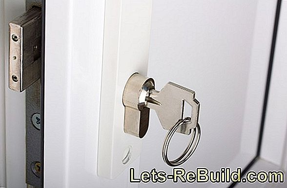 Have the lock replaced at the door: where are the costs?