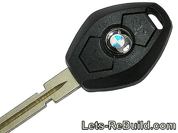 Lost BMW key - what to do?