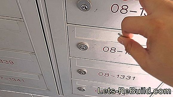 Changing The Mailbox Lock Yourself » Instructions In 5 Steps