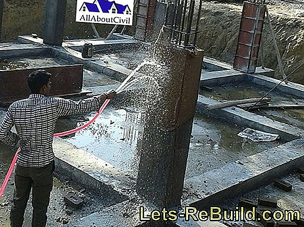 Cement mortar has a varying curing time