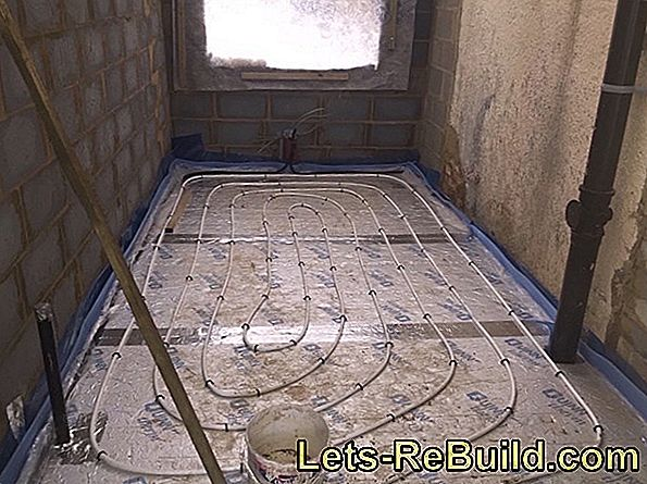 Cement Screed For Underfloor Heating - Advantages And Disadvantages