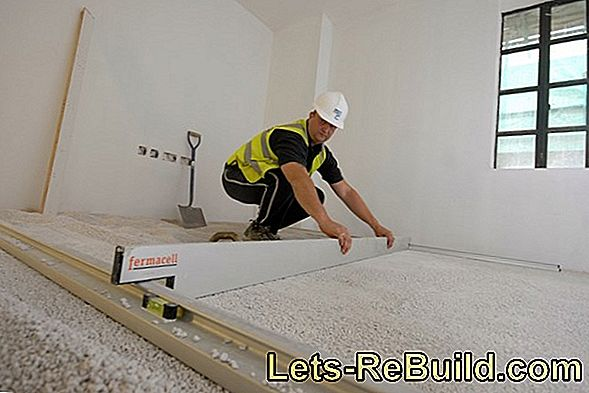 Heating Cement Screed Properly - That'S How It'S Done