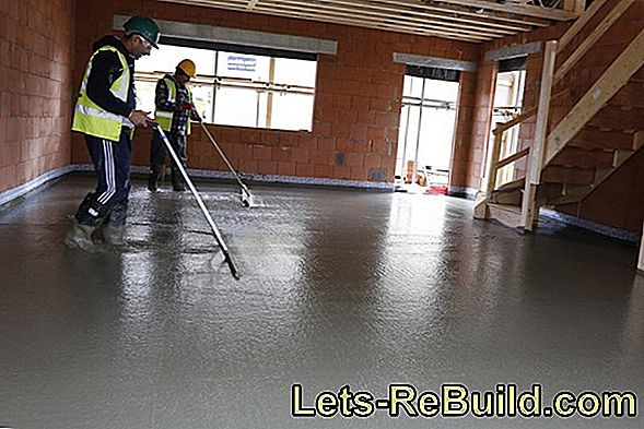 Lay screed - which is important