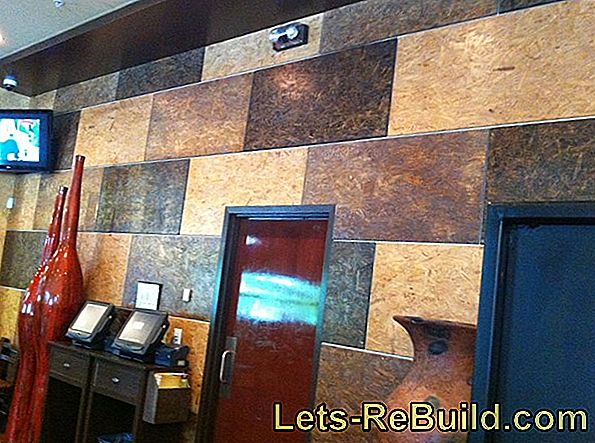 Paint OSB boards with wall paint