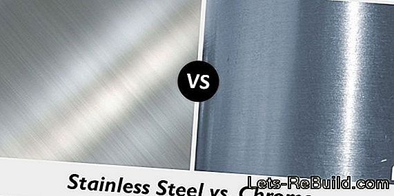 Chrome versus stainless steel