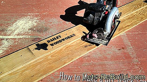Circular saw: Change the saw blade - this is how it works