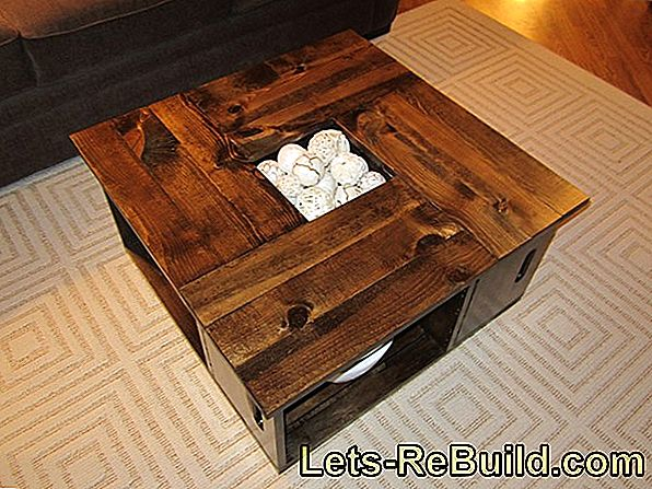Build A Coffee Table Yourself » Great Ideas For Copying