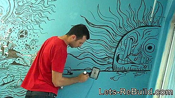 Paint A Wall With Acrylic Paint » This Should Be Noted