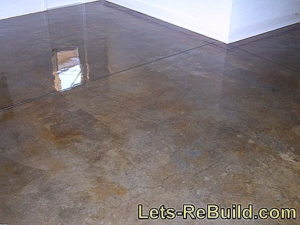 Clean Concrete Floor » Instructions In 4 Steps