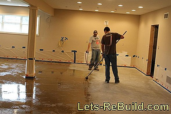 Seal concrete floor properly and permanently