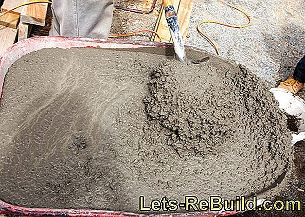 Mix concrete for exposed concrete, structural components and screeds