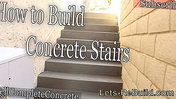 Cast Concrete Stairs » Detailed Instructions