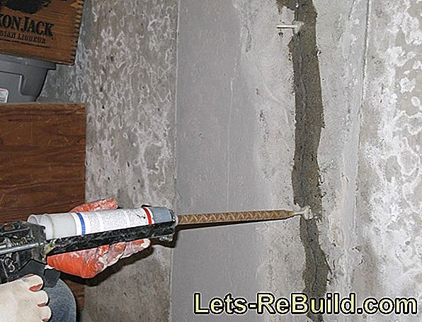 Sealing The Concrete Wall » This Is How It Works With Injection