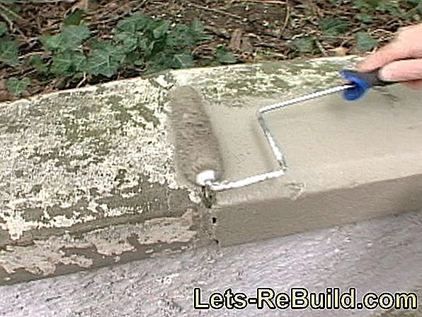 Fill Concrete Wall » Instructions In 4 Steps