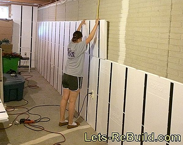 Make concrete wall yourself in a creative way