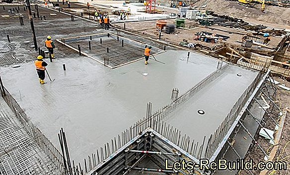 The drying of concrete