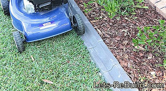 Making Lawn Edging Out Of Concrete » 2 Instructions