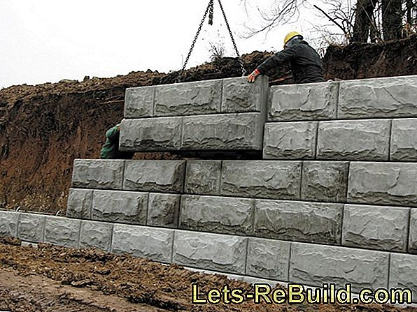 Retaining Wall Made Of Concrete » Structure & Designs