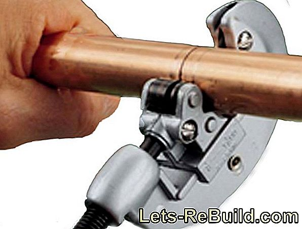 Cutting Copper Pipe » Tool And Procedure