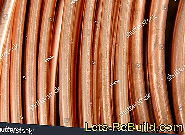 Close copper tube