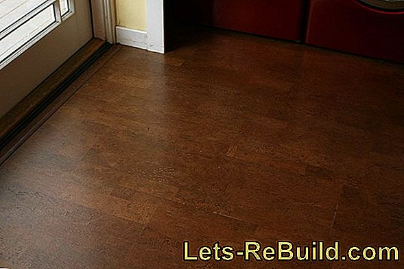 Lay Cork Floor - Instructions In 3 Steps
