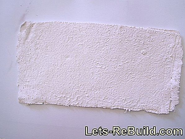 Cotton Plaster Molds » This Is How The Textile Plaster Works
