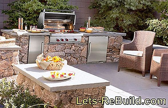 Build your own outdoor kitchen - that's what you should think about