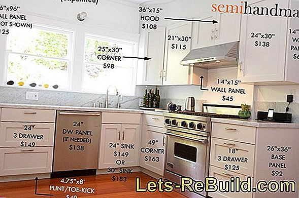Kitchen cabinets stick: possibilities, ideas, costs