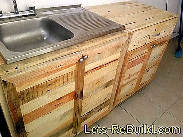 Kitchen Made Of Pallets » Ideas For Imitation