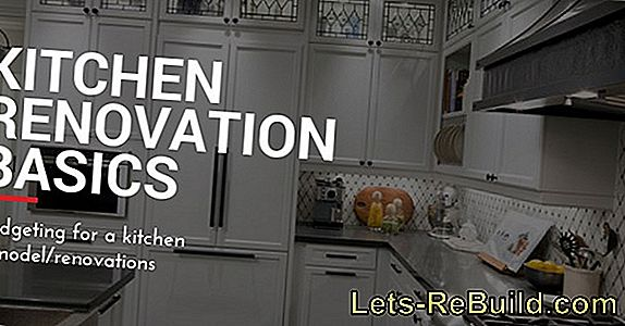 Renovate the kitchen - what are the costs?