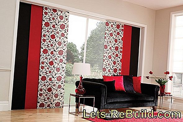 Panel curtains - modern alternative to curtains