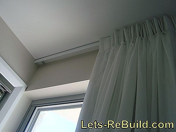 Mount curtains - you have these options