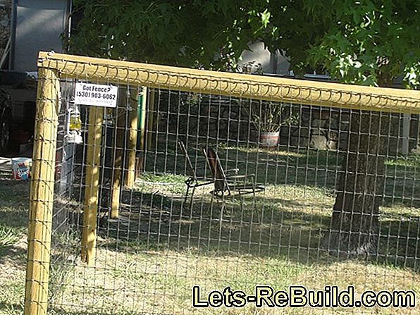Double pole mesh fence - the installation costs