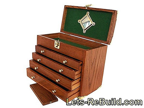 Build a wooden drawer box yourself - very easy