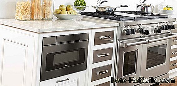 Install drawer under induction hob