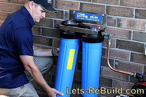 Change Water Filter At House Connection » How & When?