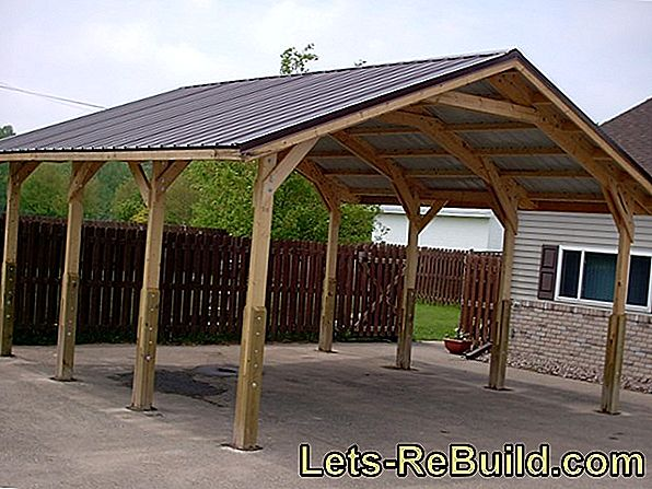 Carport: How to design the driveway