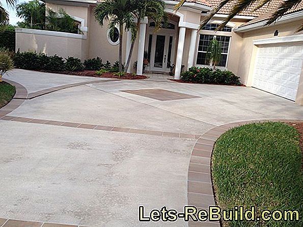 Design a long driveway - you have these options