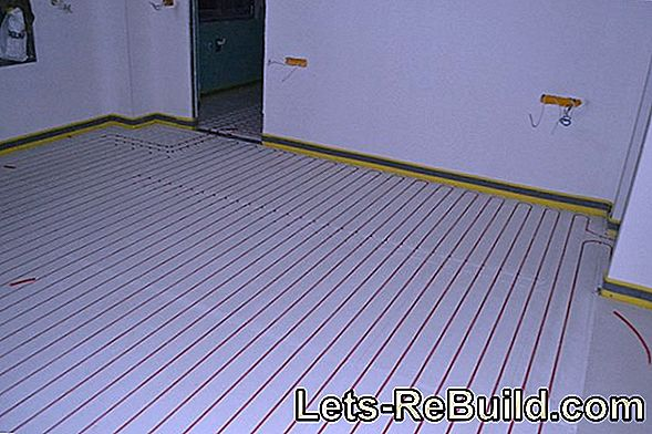 Dry Screed With Underfloor Heating - 2 Options