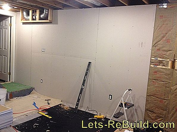 Instructions for building a soundproof drywall