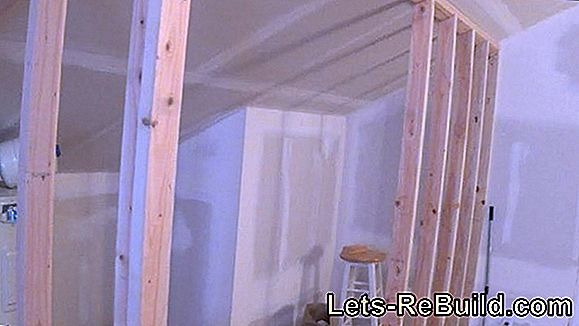 Attach The Drywall To A Sloping Roof » This Is How It Works