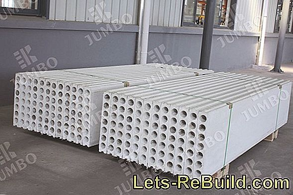 Lightweight construction wall - the material