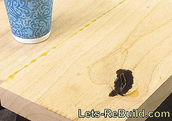 Epoxy resin - repair wood quickly