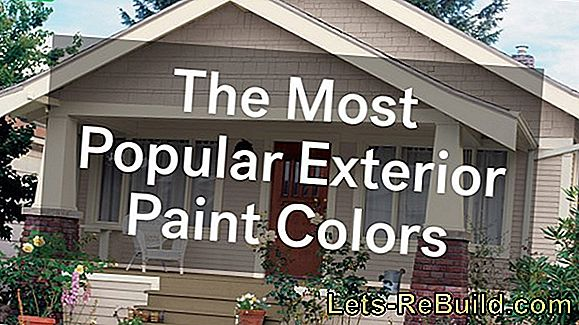 Mix facade color: how does it work best?