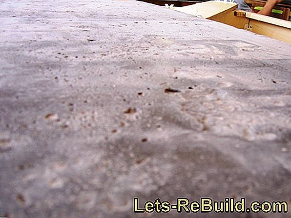 Fill holes in the facade: a 5-step instruction