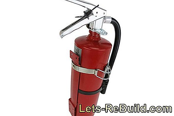 Fire Extinguisher In The Apartment » Which & Where To Go?
